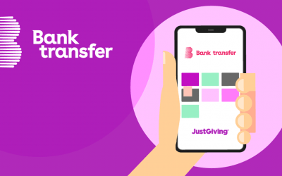 Donate with Bank Transfer through JustGiving